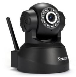 Wholesale Phone Surveillance - Newest Sricam SP012 IP Camera WIFI Onvif P2P Phone Remote 720P Home Security Baby Monitor 1.0MP Wireless Video Surveillance Cam