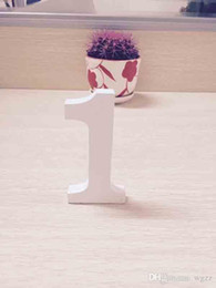 Wholesale Order Articles - Supply Wooden Figures Wooden English Alphanumeric Ornaments Place Adorn Letters Decorative Home Furnishing Articles Order Processings Weddin