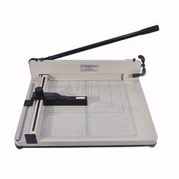 Nouveau A3 Bureau Stack Cutter Guillotine 858-A3 taille Manuel Machine De Découpe De Papier Largeur Max 40mm ? partir de fabricateur