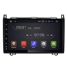 """Wholesale Dvd Tv Gps Mercedes Benz - 9"""" Android 7.1 System Car DVD Stereo For BENZ B200 Sprinter W906 W209 VW Crafter GPS Navi Radio RDS BT WIFI 4G Quad Core 2G+16G RAM Touch"""