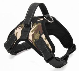 Wholesale Dog Walking Vest - Big Dog Soft Adjustable Harness Pet Large Dog Walk Out Harness Vest Collar Hand Strap for Small and Large Dogs Pitbulls