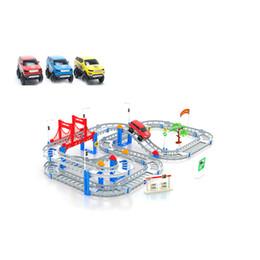 Wholesale Mini Thomas Train - Multi-track Thomas Train Track Electronic Toy Rail Car Hands Development Kids Children Gift