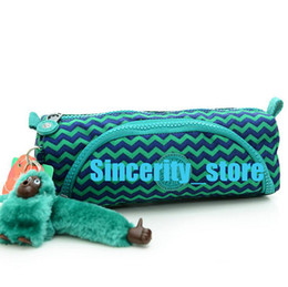 Wholesale Purple Dolphin - Dolphin Island High Quality Pencil Case Nylon Coin Purse Pencil Bag Gargle Bag Fashion Cosmetic Bag Travelling Bags dhY-831