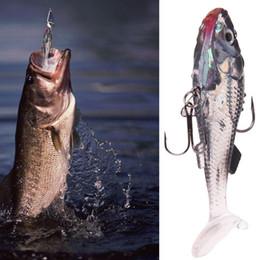 большие приманки соленой воды Скидка Силиконовые мягкие приманки рыболовные приманки червь бас форель Shad Bait Crank плавать приманка F00032 SPDH