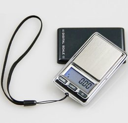 Wholesale Digital Weights - 10pcs lot 200g x 0.01g Digital Scale Jewelry Gold Herb Balance Weight Gram LCD Pocket Scale Electronic Scale Lanyard and holster