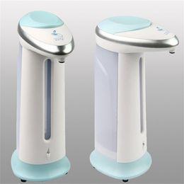 Wholesale Plastic Kitchen Containers - Liquid Soap Dispenser Home Kitchen Bathroom Articles For Creative New Design Automatic Magic Sensor Soaps Container 20bn C R