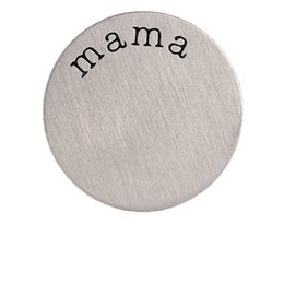Wholesale Mama Floating Locket Charm - 10pcs lot Free Shipping Stainless Steel MAMA Floating Window Plates For 30mm Glass Living Charm Locket