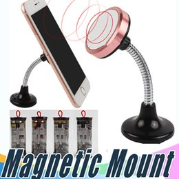 Wholesale Iphone Windscreen - Magnetic Mount Universal 360° In Car Windscreen Dashboard Holder Mount Stand For iPhone Samsung Mobile Phone