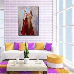2019 billige kunstfarbe Modell Ölgemälde Wandkunst Dekorative Wohnzimmer Wandbilder Günstige Moderne Ölgemälde auf Leinwand Hohe Qualität günstig billige kunstfarbe
