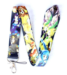 Wholesale Neck Lanyards Pass Holder - 100Pcs Lot Game Anime The Legend of Zelda ID Pass Card Holder Cell Phone Neck Strap Lanyards Pendant Key Chains