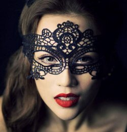 Wholesale Masquerade Mask Women Lace - Sexy Lace Party Masks Women Cosplay Costume Masquerade Dancing Valentine Half Face Mask queen Mask 27 design KKA2322
