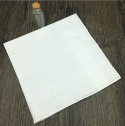 Wholesale Handkerchief Towel - 100%cotton 40X40cm white handkerchief,Towel,Male and female handkerchief,Ladies Cotton Handkerchief