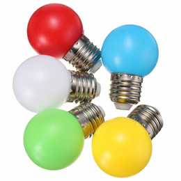 Wholesale Colorful Nature - Free shipping Home Lighting Colorful Led Bulb Ampoule E27 3W Energy Saving Light Red Orange Yellow Green Blue Milk Pink Lamp Smd2835 220V