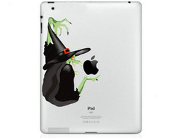 Wholesale Ipad Mini Decals - Hot Originality Witch series Vinyl Tablet PC Decal Color Sticker Skin for Apple iPad 1  2   3   4   Mini Laptop Skins Sticker