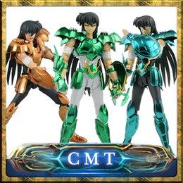 Wholesale Myth Ex - Dragon Shiryu V3 Version final Cloth EX metal armor Saint Seiya Myth Cloth Action Figure