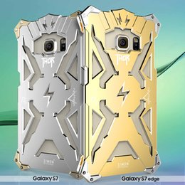 2019 bordo metallico Per iphone7 7plus Thor Iron Man Custodie in alluminio metallo Punk Crash Proof Bumper Case per iphone 6 6s plus Samsung Galaxy S6 bordo S7 DHL SCA120 sconti bordo metallico