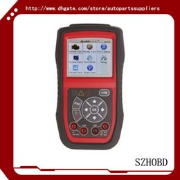 Wholesale Obd2 Mileage Correction Software - obd2 car scanner car tools Original Autel AutoLink AL539 AL 539 OBDII CAN SCAN TOOL Internet Update Multilingual Menu