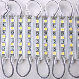 boîte à lumière menée pour la publicité Promotion DC12V 5050 5LEDs Modules de lumière à LED Modules de rétroéclairage de signe LED imperméables IP65, Modules de caisson lumineux pour publicité