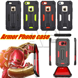 Wholesale K7 Phone - Mobile Phone Case 2 in 1 TPU+PC Cover For Iphone 6s Plus Samsung Galaxy S6 Edge LG K7 Cases Motorola