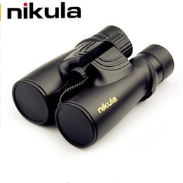 Wholesale Binoculars Professional - Nikula Binoculars 10x42 Professional Binocular Nitrogen Waterproof Powerful Hd Telescope Lll Night Vision For Hunting Compact