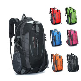 Wholesale 75l Outdoor Bag - DHL Fedex Ship Adult Backpack Men & Women's Casual Climbing Backpacks Travel Outdoor Sports Bags Teenager Laptop Bag Nylon Good Quality