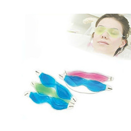 Wholesale Random Shopping - Wholesale- Random Color Sleep Masks Summer Ice Goggles Relieve Eye Fatigue Remove Dark Circles Eye Gel Ice Pack Drop Shopping