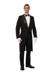 Tuxedo blue color for mens on-line-Gentleman homens ocasião formal encaixar moda cor pura um botão mens ternos de casamento de duas peças mens smoking (jaqueta + calça + gravata borboleta)