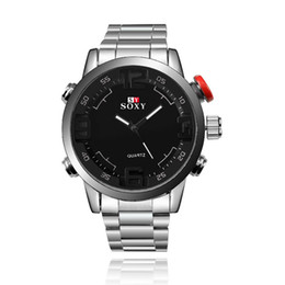 Wholesale Japanese Automatic Watch Movement - Classic Sport Wrist Watch Man Watch Automatic Japanese Quartz Movement Stainless Steel Strap Relogio Masculino Brand New Wholesale 095