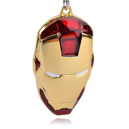 Wholesale Masks For Boys - Movie Series The Avengers Key Chain Iron Man Mask Keyring Keychain for Keys Chaveiro Llavero Key Ring Key zj-0903555