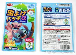 Wholesale Wholesale Bear Patches - 2400X(1pack=24pcs) Mosquito Repellent Patch Drive Midge Anti Mosquito Carton Bear Shape Patch Environment Baby Repeller Sticker