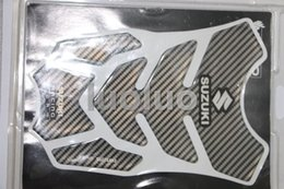 Wholesale zx6r tank - suzuki Carbon 3D Motorcycle oil tank Sticker decal Pads Protector For ZZR400 ZX6R ZX7R ZX9R ZX10R ZX14R ER6N NINJA Z250 Z750 Z800 Z1000