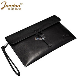Wholesale Envelope Clutch Men - Prince Ersidun handbags male leather large envelopes business men Hand Bag Fashion Clutch hand clip bag