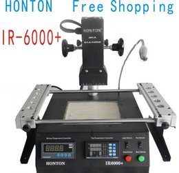 Wholesale Infrared Reworking Stations - Free shipping 220V Infrared BGA Repair Station IR6000 BGA rework station IR rework station 220v
