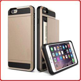 Wholesale Sells Mint - Factory direct selling high-quality i7 I6 mobile phone shell slip type card protection sleeve SCase, three in one anti fall shell