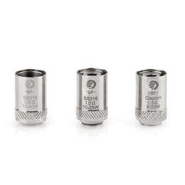 Wholesale Ego Replacement - Joyetech eGo Aio Coil BF SS316 Atomizer Coils Head Electronic Cigarette Replacement Coil 0.5ohm 0.6ohm 1.0ohm coil