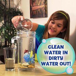 2020 tanques de peixes para animais My Fun peixe limpeza de tanques Goldfish Filtro Cilindro Household de alta qualidade Pet aquários ornamentais mudar a água 14 5SF J R desconto tanques de peixes para animais