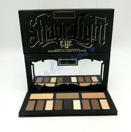 Wholesale Light Shades Black - HOT New Shade & Light Eye Contour Palette 12 colors Matt eye shadow palette eyeshadow 30g DHL Free shipping+GIFT