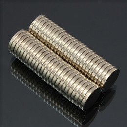 Wholesale Super Strong Neodymium Disc Magnets - 50pcs N52 Super Strong Disc Magnets 20mm x 3mm Rare-Earth Neodymium Magnets