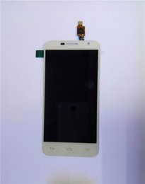 Wholesale Alcatel One Touch Mini Idol - White Full LCD display+touch screen digitizer assembly For Alcatel One Touch Idol 2 mini 6016 OT-6016A 6016X 6016E 6016D