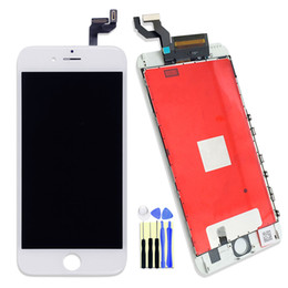 """Wholesale Hk Post Free Shipping - 100% Test For Apple iPhone 6S 4.7 """" White LCD Display Touch Screen With Digitizer Full Assembly Complete Screens,HK Post Free Shipping"""