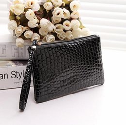 Wholesale Cheap Girls Handbags - Cheap Fashion Ladies Clutch Bags Pu Aligator Mini Handbags Free of Charge for above 20usd buyers