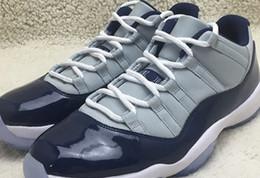 Wholesale White Boots Size 11 - Wholesale 2016 Cheap Basketball Shoes Men Women Retro 11 XI Low Boots Top Quality New J11S dan Authentic Discount Sports Shoes Size 36-47