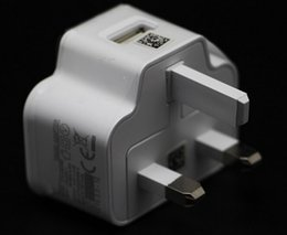 Wholesale Note2 Dock - High quality 2A travel Adapter Charger UK plug standard For Samsung Galaxy S4 I9500 I9505 S3 Note2 N7000 Phone Fast Charging