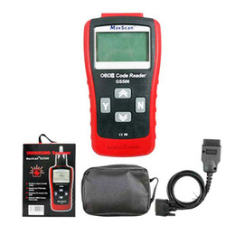Wholesale Scanners Gs - Wholesale- 2016 OBD2 Scanner MaxScan GS500 EOBD   OBD II Trouble Code Reader OBDII GS 500 Professional Diagnostic Tool with 1 Year Warranty