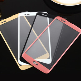 Wholesale Oppo Screen - Tempered Glass For LG LV3 LV5 K20 Plus K10 K8 K4 2017 2016 V20 K7 G6 Full Cover 2.5D 0.26MM 9H Screen Protector Tempered Glass