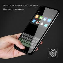 Bouton d'accueil autocollant iphone ipad en Ligne-En gros en aluminium Home Button Protéger Autocollant Pour Touch ID Pour iPhone 6 6S 7 Plus 5S SE Support D'empreinte Digitale Deblocage Autocollant