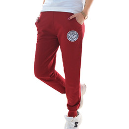 Wholesale Korean Selling Model - 2016 explosion models selling fashion fabric cotton casual pants Wei pants   cotton   Korean   feet pants   sports pants