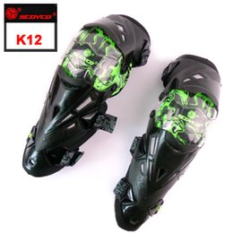 Wholesale Motorcycle Guards - Kneepad Authentic Motorcycle protect Knee Protector Motocross Racing Guard Pads Protective Gear Scoyco K12 motocicleta motos