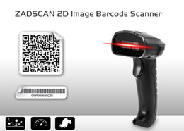 Wholesale 2d Barcode Reader - ZADSCAN BP8610 2D Barcode Scanner Wired Handheld Bar-code Reader for Supermarket Express Smartphone Computers etc Free Shipping