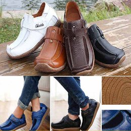 Wholesale Top Dresses For Boy - Children Casual Moccasins Leather Shoes New Boys Top Cowhide Genuine Dress Leather Shoe Flat Shoe For Party Jeff Gifts HH -S37